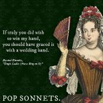 On Shakespeare, Sonnets, and Pop Songs