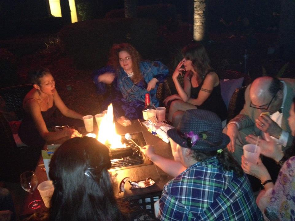 S'mores! (Photo by Andy Duncan)