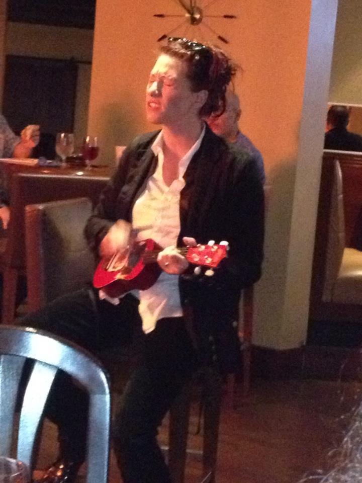 Amanda Palmer at ICFA (Photo by Andy Duncan)