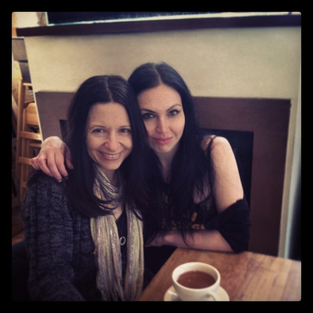 With Katelan at Milk & Honey in Chicago