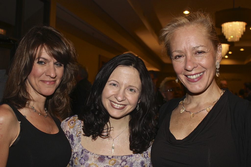 Nancy, me, and Katherine Pendill at the Awards Dinner (Photo by Bill Clemente)
